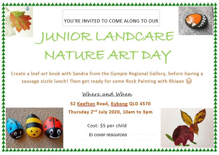 Junior Landcare News – Sessions set to resume in July!