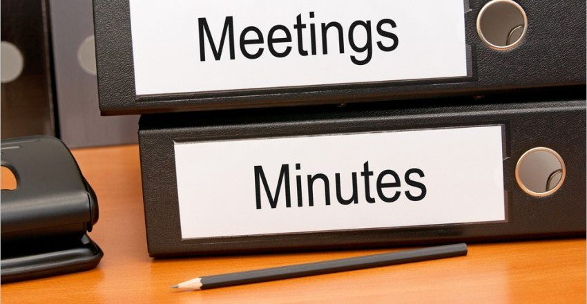Minutes of the November Management Committee Meeting