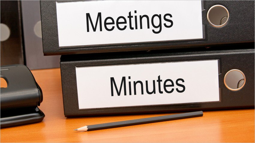 Minutes of Meeting – September 2019 Management Committee Meeting