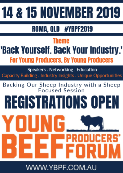 Young Beef Producers Forum – 14th & 15th November 2019