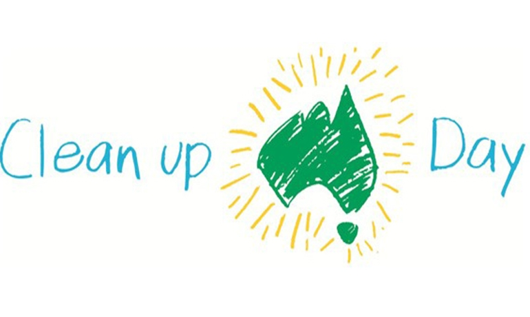 Clean Up Australia Day – Sunday 1 March 2020